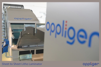 Кашировальная машина Oppliger ( Sheet to sheet litho laminator )